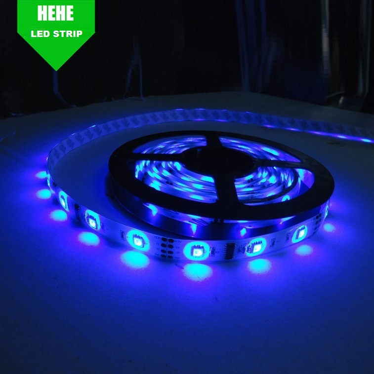 SUPER SEPTEMBER 5%OFF Cool White <strong>RGB</strong> 60LED SMD 3528 IP66 Waterproof LED Strip Flexible Light 12V 5m/16ft Battery Powered
