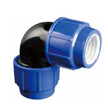 ERA PP Compression Pipe fitting 90 degree elbow