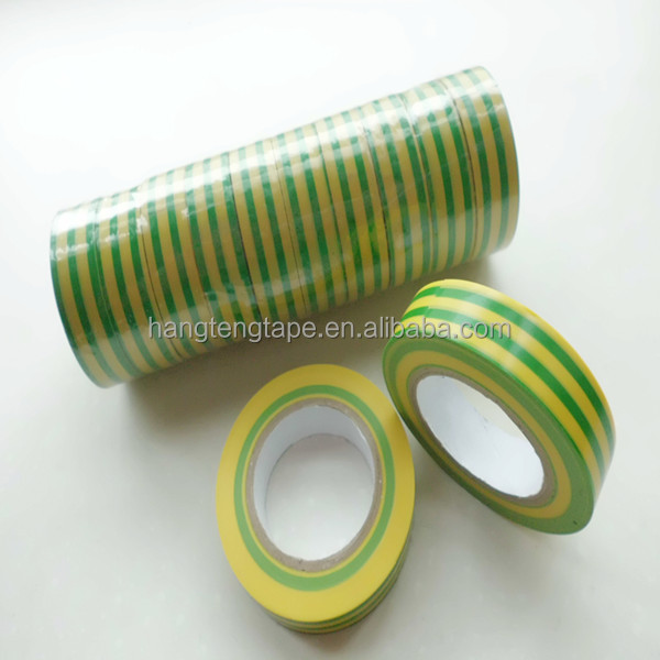 Electrical material earth color PVC insulation tape