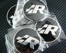 65MM Ultra-high Quality Wheel Center Cap Sticker 3D Alloy Car Logo Emblem Badge Metal Wheel Rims
