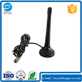 Black Small FM Radio Telescopic Antenna IEC Connector RG174 Cable