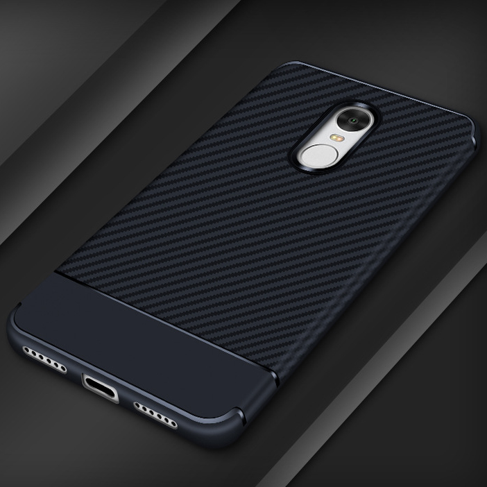 Free Sample Silicon Cell Phone Case, for redmi note 4x Carbon Fiber Case