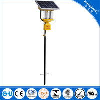 solar insect killer pest control led lamp