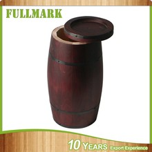 hot sale oak vanish wooden barrel