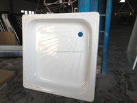 wholesale enamel steel shower tray shower tub