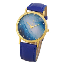 13colors choice Pu leather Strap Hot Sale Promotion lady's watches Geneva Branded Analog Watches