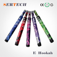 2016 Portable real 500 puff e shisha pen high quality e hookah pen frut flavors nice taste accept oem
