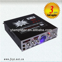 karaoke best sound amplifier YT-K03 with FM/USB/SD input