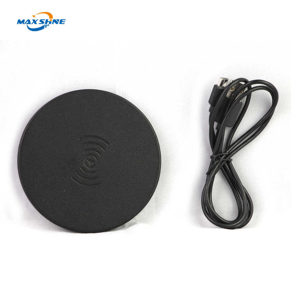 New products fast universal genuine original portable mobile phone power mat qi wireless charger for samsung S7 for iPhone X