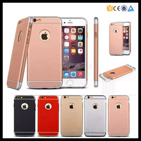 High quality frosted hard spraying pc cover for iphone 6 6s 2mm ultra thin armor case