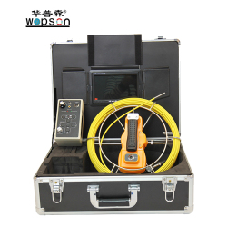 WOPSON Underwater Drain Sewer Pipe Inspection Camera System with Video Audio Text Recording