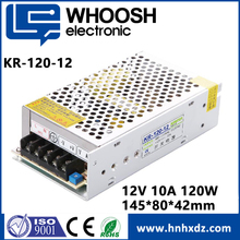 110v 220v ac dc 120W 12v smps led switching waterproof power supply