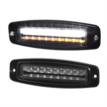 Amber Flash 27w 7 inch Truck Tractor Led Super Bright Led Work Light