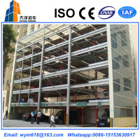 2-7 levels smart vertical car lift parking equipment
