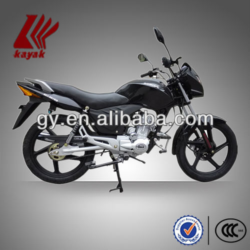 One-cylinder And 4-Stroke Black/Red/blue New 125cc Street Motorcycle,KN125-12B