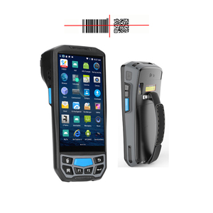rugged handheld hf computer uhf rfid reader for smart phone deliver pda touch screen handheld terminal laser scanner barcode