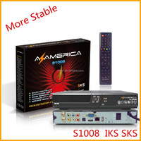 azamerica s1008 twin tuner hd receiver iks and sks