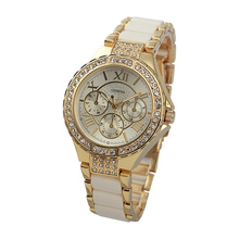 2016 New Fashion Womens Ladies Girls Diamond Watches Analog Watch Casual Quartz Wrist Watch