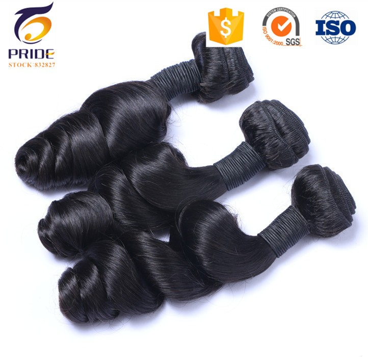 "3PC Premium Now loose Wave 8""- 30"" human Hair weave brazilian loose Curly Hair extensions"