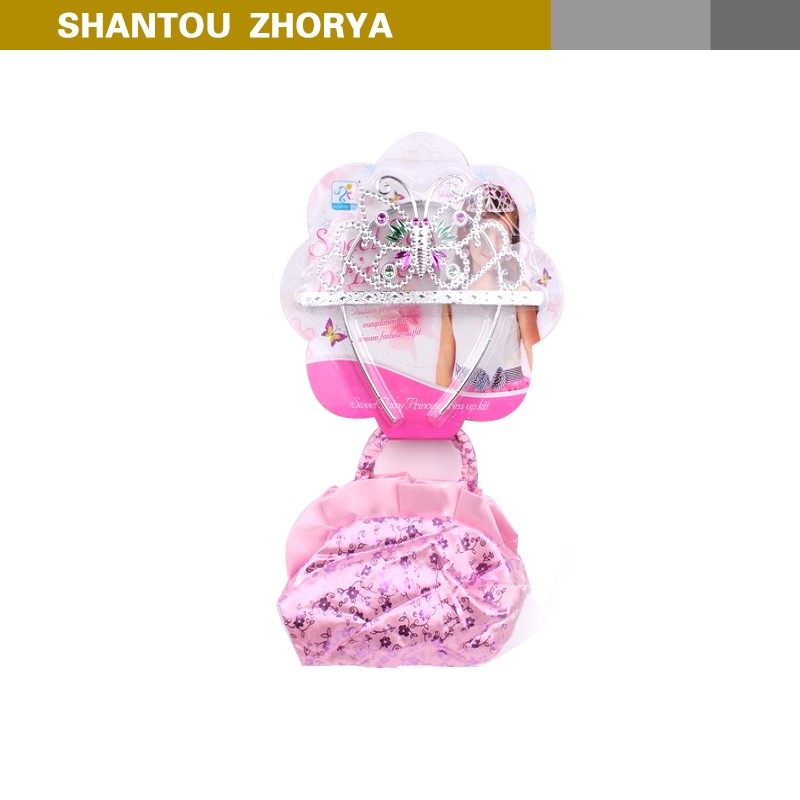Zhorya Kids fashion costume jewelery Beauty Playing Set