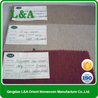 With Any Color Style, Manufacturer Supplier PET And PP Needle Punched Nonwoven Felt