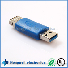 USB 3.0 male to female adapter for PC connection extension
