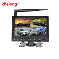7 inch lcd mini hd car DVD have 170 wide view angel hindi video songs hd monitor