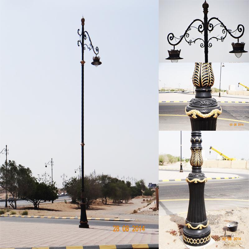 Decorative Light Poles outdoor wifi base antenna decorative garden light decorative light
