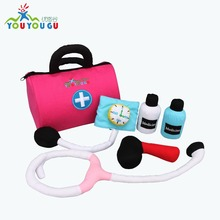 High Quality Plush Toy Set Doctor Kit for Kids
