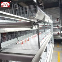 Poultry farm chicken duck cages of duck breeding automatic equipment