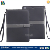 wholesale promotion stand pu wallet leather case for ipad air