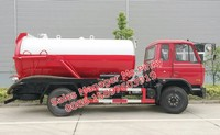 8000Liters Truck Mounted Vacuum Cleaner Sewage Sucker Truck Vacuum Suction TrucK LHD or RHD For Sales
