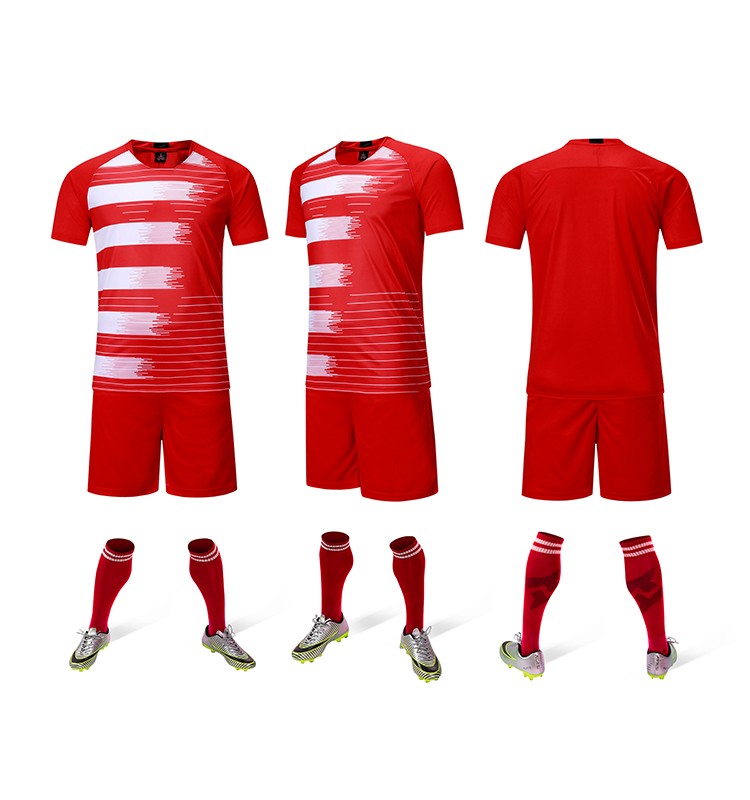 Plain Uniform Your Own Name Sets Soccer Wear Football Uniform