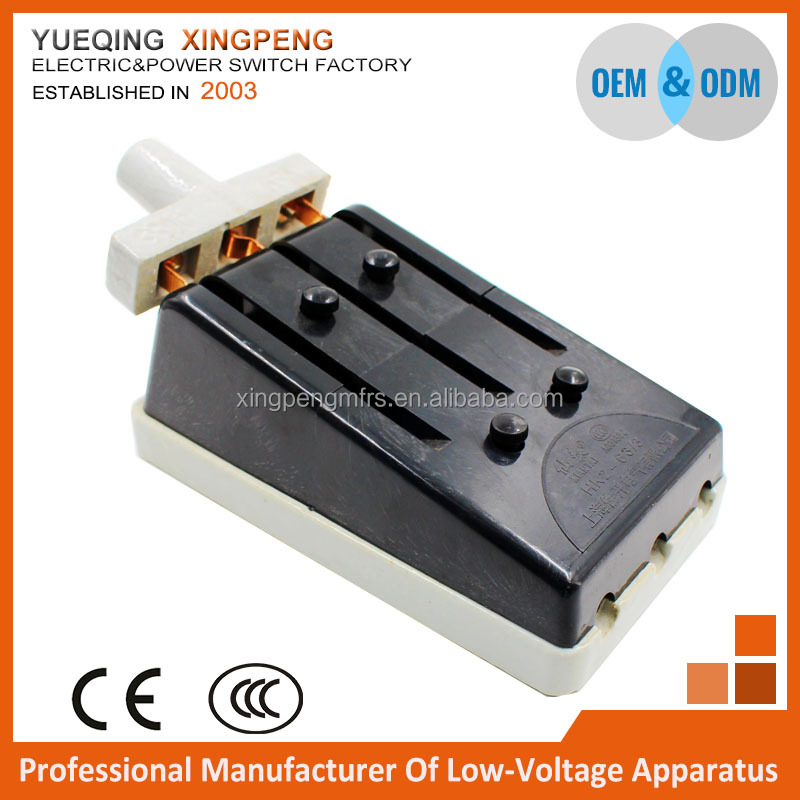 Ceramic switch 3Pole 100amp 380v ,3 phase plug-in strip switch,hk2 132kv dc disconnecting switches