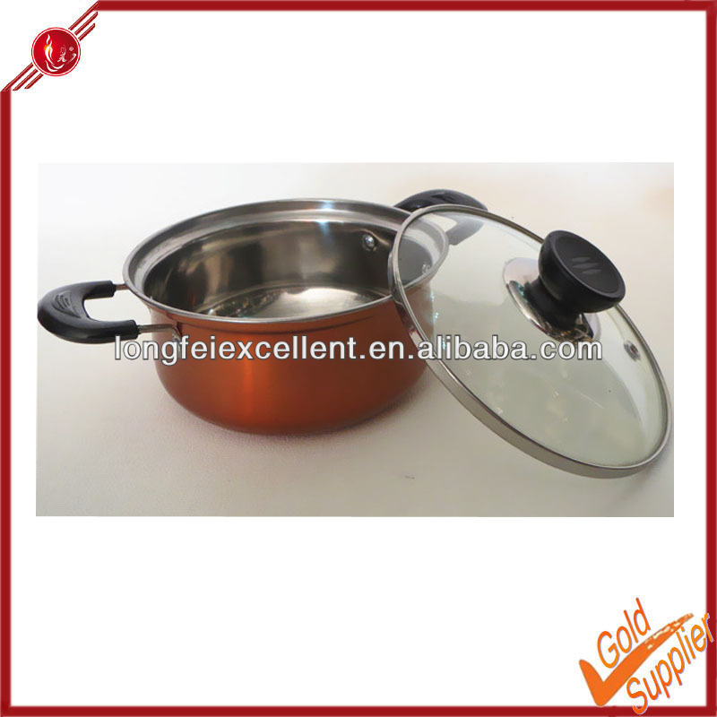 Mini cooking pot convection oven cooking pot stainless steel insulated casseroles hot pot