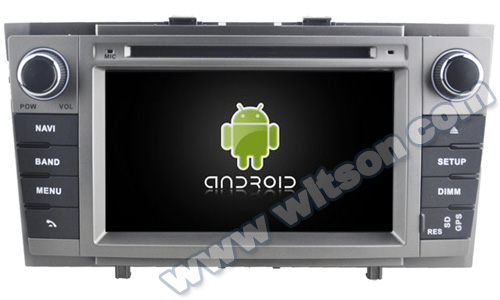 WITSON ANDROID 4.4 CAR DVD PLAYER GPS NAVIGATION For TOYOTA AVENSIS 2008-2013