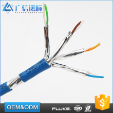 Competitive price 4Pairs Number Tin plated copper Drain Wire custom color lan network networking cables