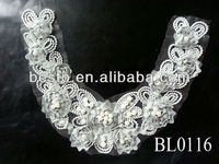 wholesale cotton embroidery lace latest women collar designs for garment accessory