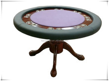Wooden Casino Round Gaming Poker Table
