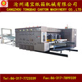 Automatic Corrugated Carton Flexo Printing Colorful Sweet Box Making Machine