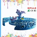 Indoor children amusement equipment lucky dolphins chair amusement games