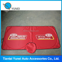 Front window nylon advertising printing sun shades for car