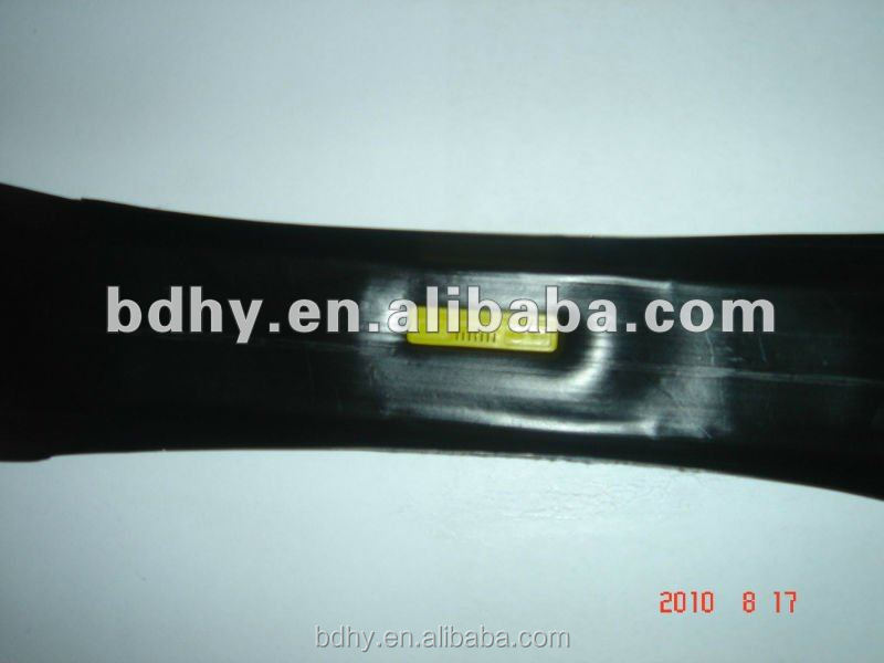 agriculture irrigation inner layed emitter tape in irrigation system.