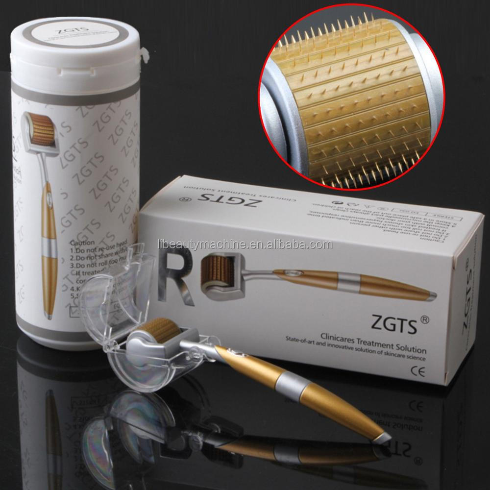Home use derma roller kit rolling system
