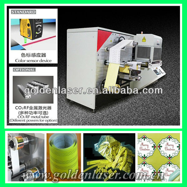 Adhesive Printing Label Cutting Machine/Laser Die Cutter Stickers