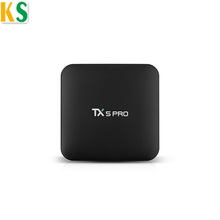 Newest Model Wifi Adapter Remote Control Android 7.1 TV Box 2G 16G Amlogic S905x TX5 Pro Smart TV Box