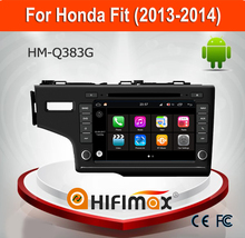Hifimax Andriod 7.1 Car Radio DVD GPS Navigation System For Honda Fit (2013-2014) aria With Wif 3G Bluetooth 2G Ram 16G Flash