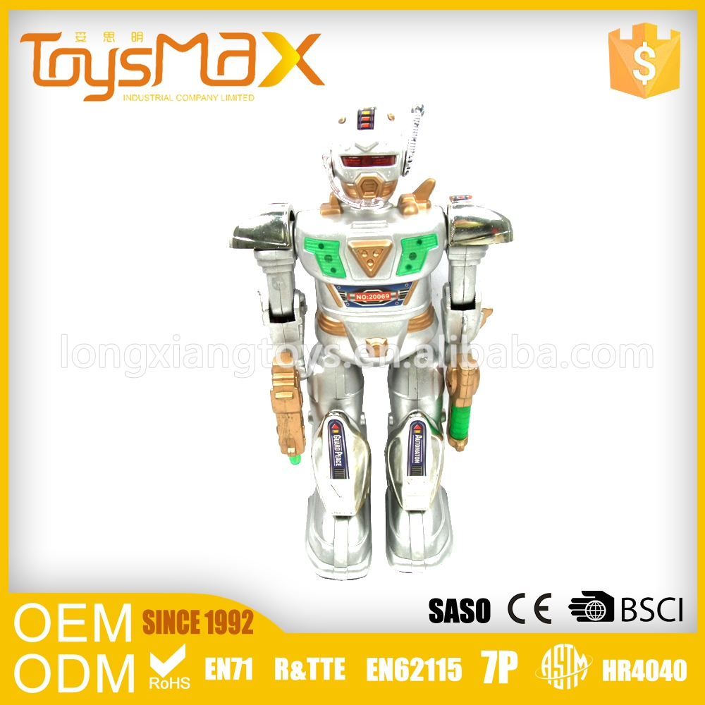 Credible Quality Customize Toy Robots Small Plastic Toys