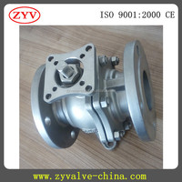 Flanged Ball Valve with ISO 5211 Direct Mounting Pad