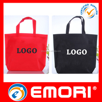 cheap reusable non-woven jute shopping bag